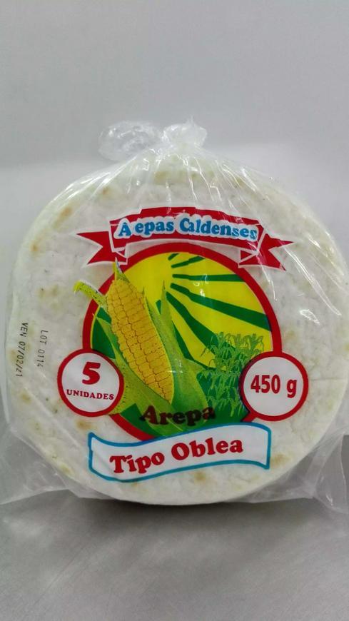 Arepa caldense