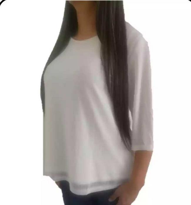 Blusa para dama color blanco