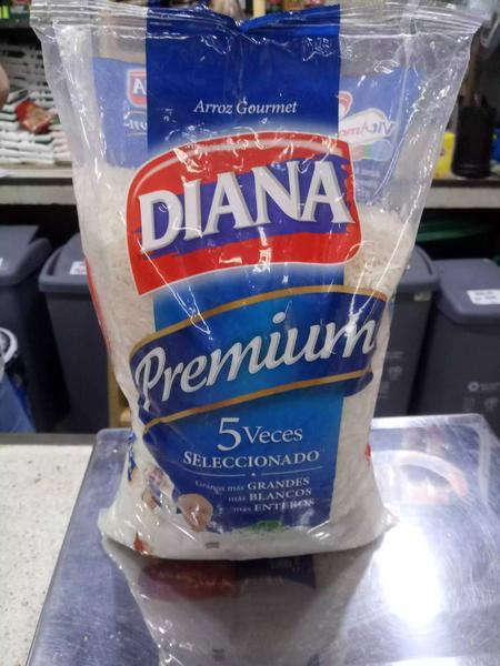 5 libras de arroz Diana