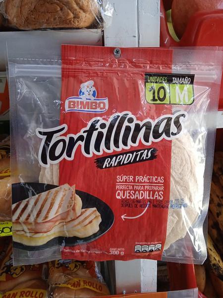 Tortillitas Bimbo por 10 unidades