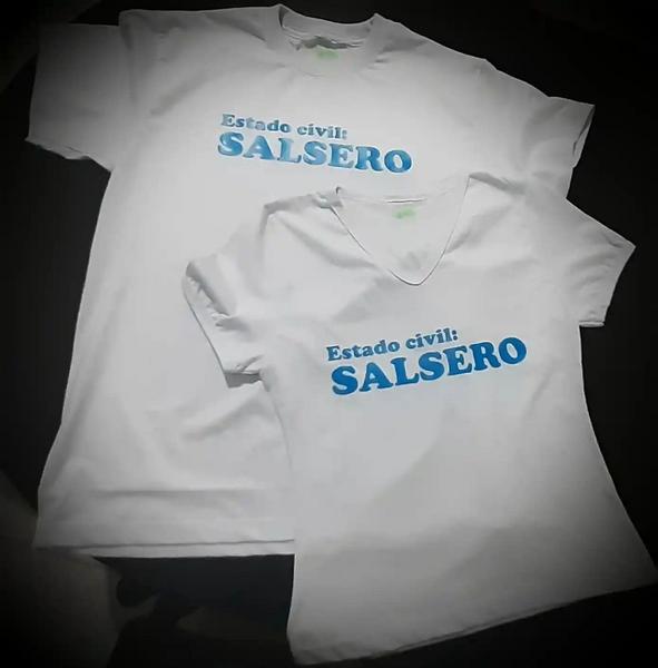 Camiseta en algodón personalizada