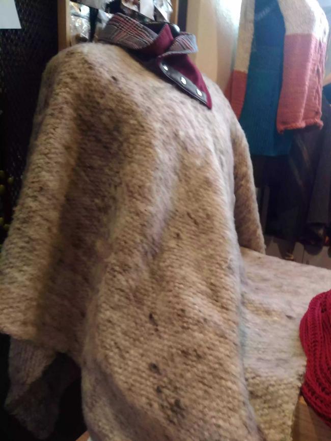 Ruana lana de oveja