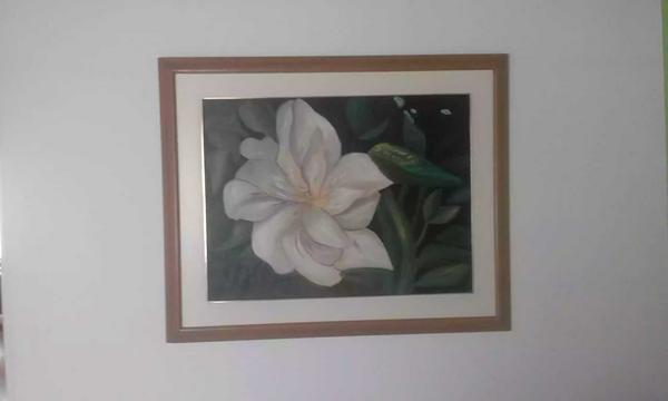 Cuadro pintado al óleo de 104 ×84