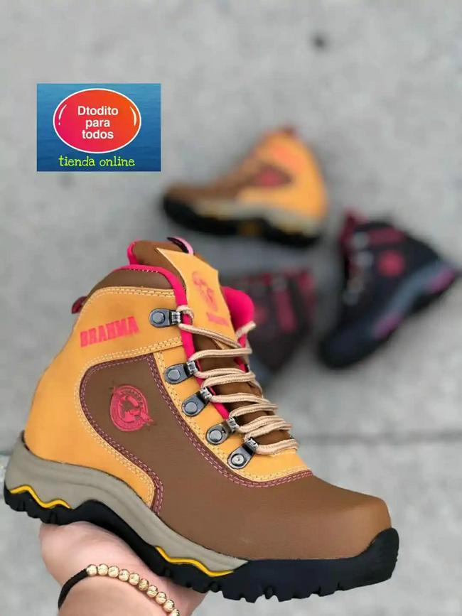 Zapato tipo bota para hombre