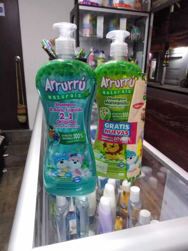 Shampoo Arrurrú