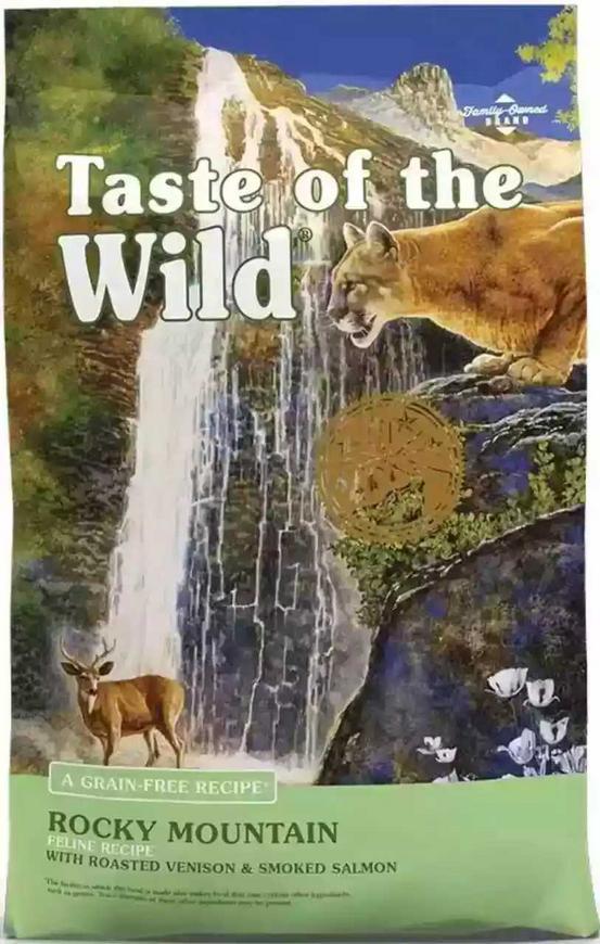 Taste of the wild rocky de 14 libras