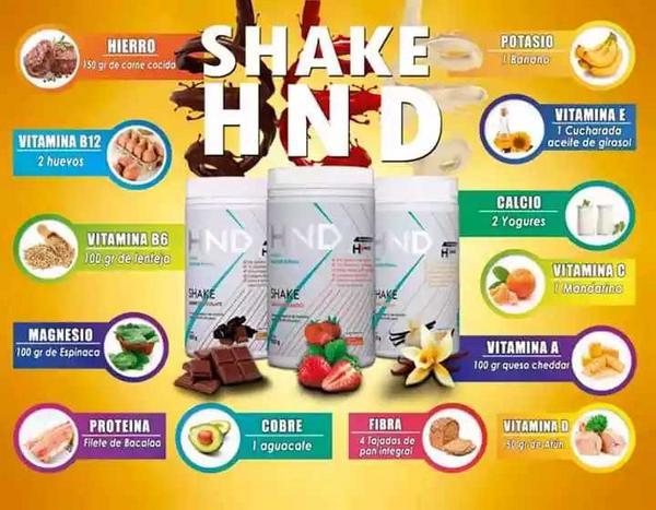 Batido nutricional con colágeno Shake HND