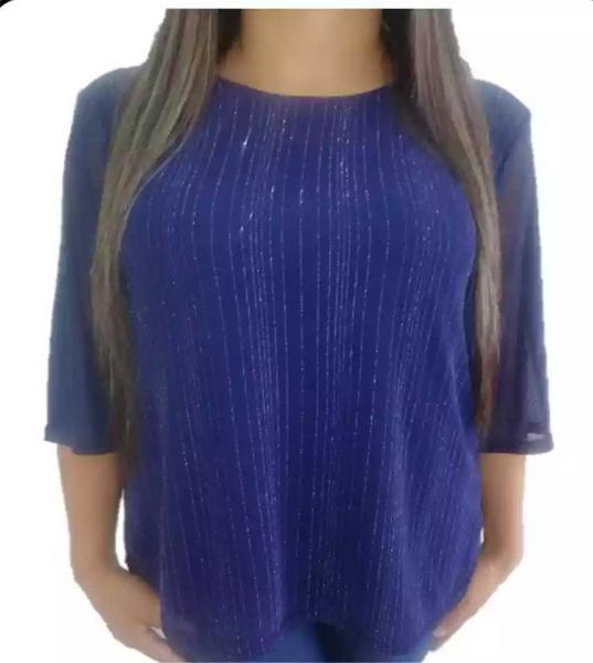 Blusa para dama color azul