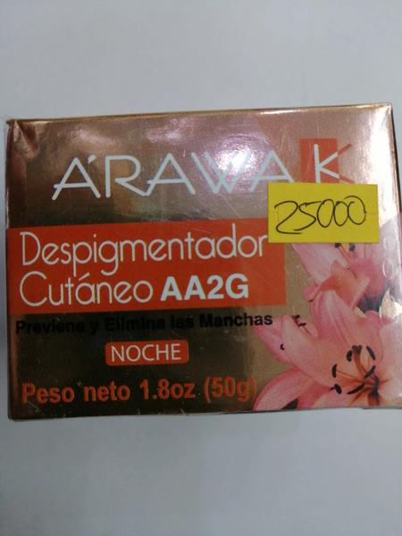 Arawak despigmentador cutáneo