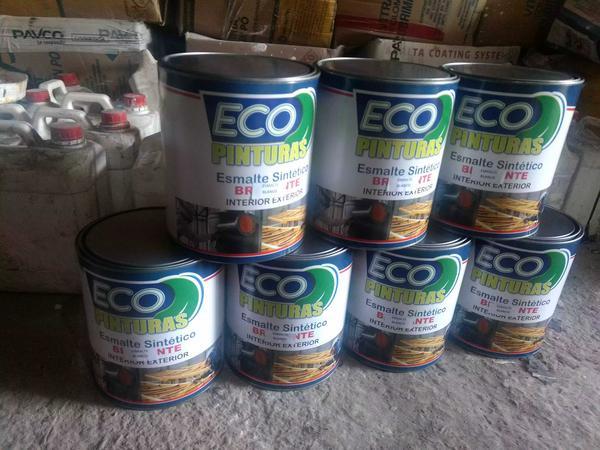 Esmalte ecológico por galón