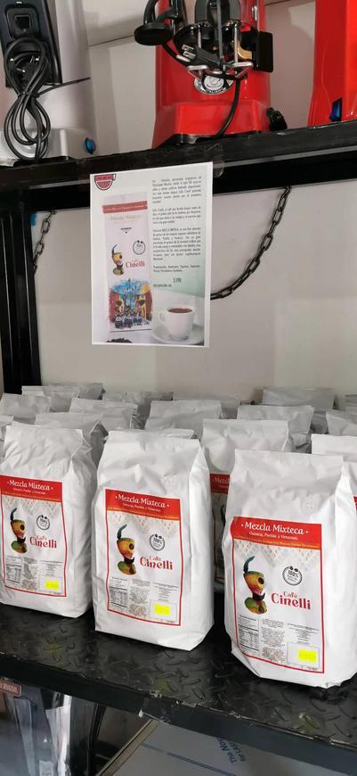 Café CINELLI, mezcla mixteca