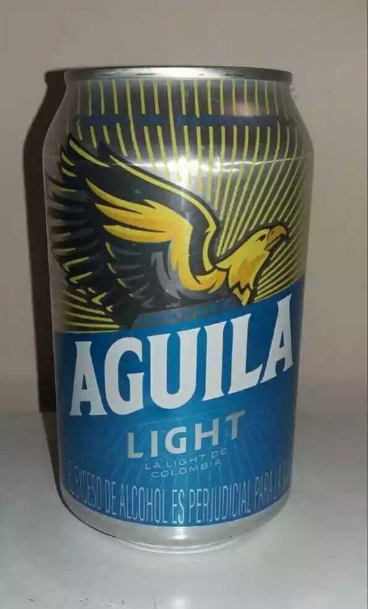 10 cervezas de Águila Light en lata