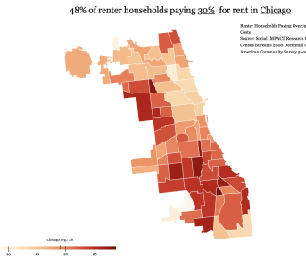 Chicago Housing Burden