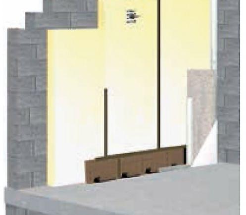 Polyurethane EFIMUR  pour isolation des murs