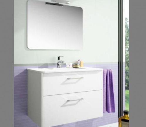 Ensemble salle de bain ESSENCE Blanc, 60cm