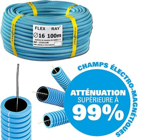 Gaine FLEXARAY+ avec fil semi-conducteur