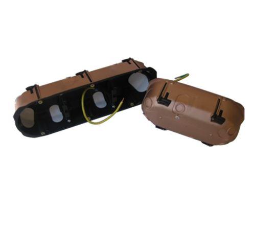 Boîte étanche FLEX-A-RAY double, 67mm x 40mm, double