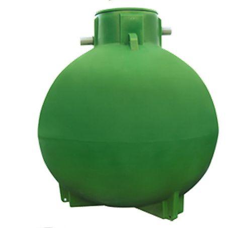 Cuve de stockage sphérique 3000 litres équipée