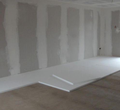 Polystyrène expansé pour isolation sous plancher chauffant