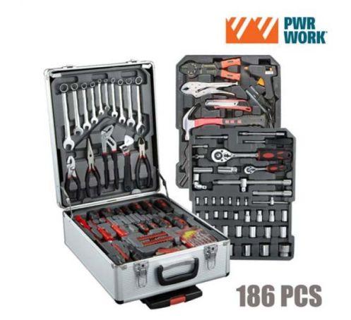 Valise à outils 186 pièces