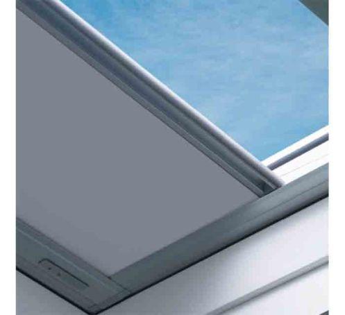 Store occultant manuel pour fenêtre toit plat, couleur I