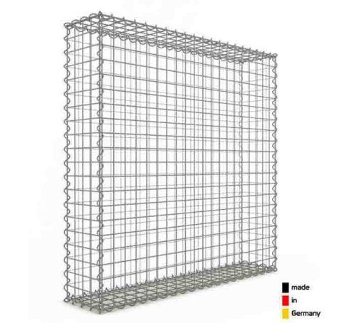 Gabion, longueur 100cm x 100cm(H)x 20 cm(L)
