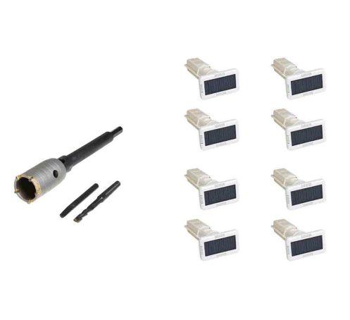 Kit assécheurs de mur solaire