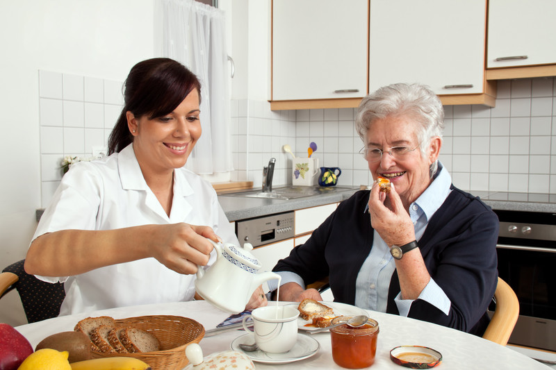 In home care to help seniors eat healthy in Lenior City, MI