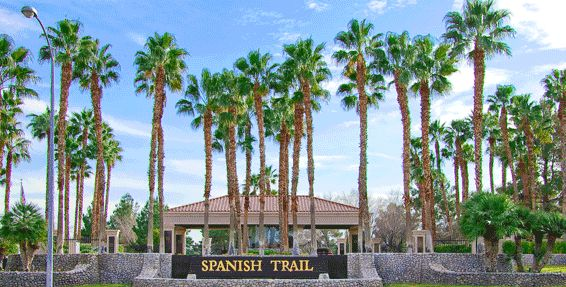 Beautiful Spanish Trail, Nevada