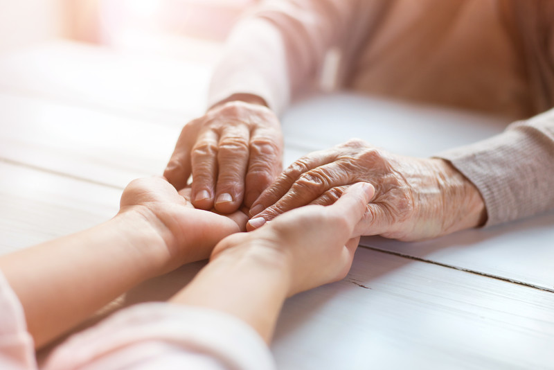 In home care that helps when it's the final stages
