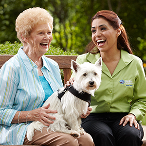 Alzheimer's Assistance Dogs Lend a Helping Paw