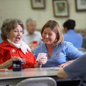 Join a Senior Center to Improve Health