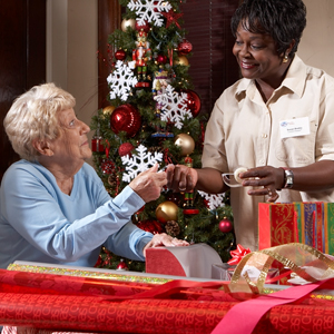 The holidays may present certain challenges for seniors.