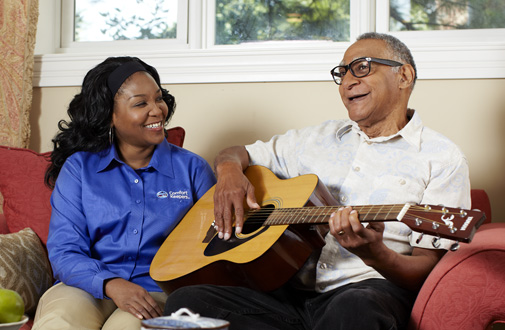 Helping Alzheimer's Patients Through Music