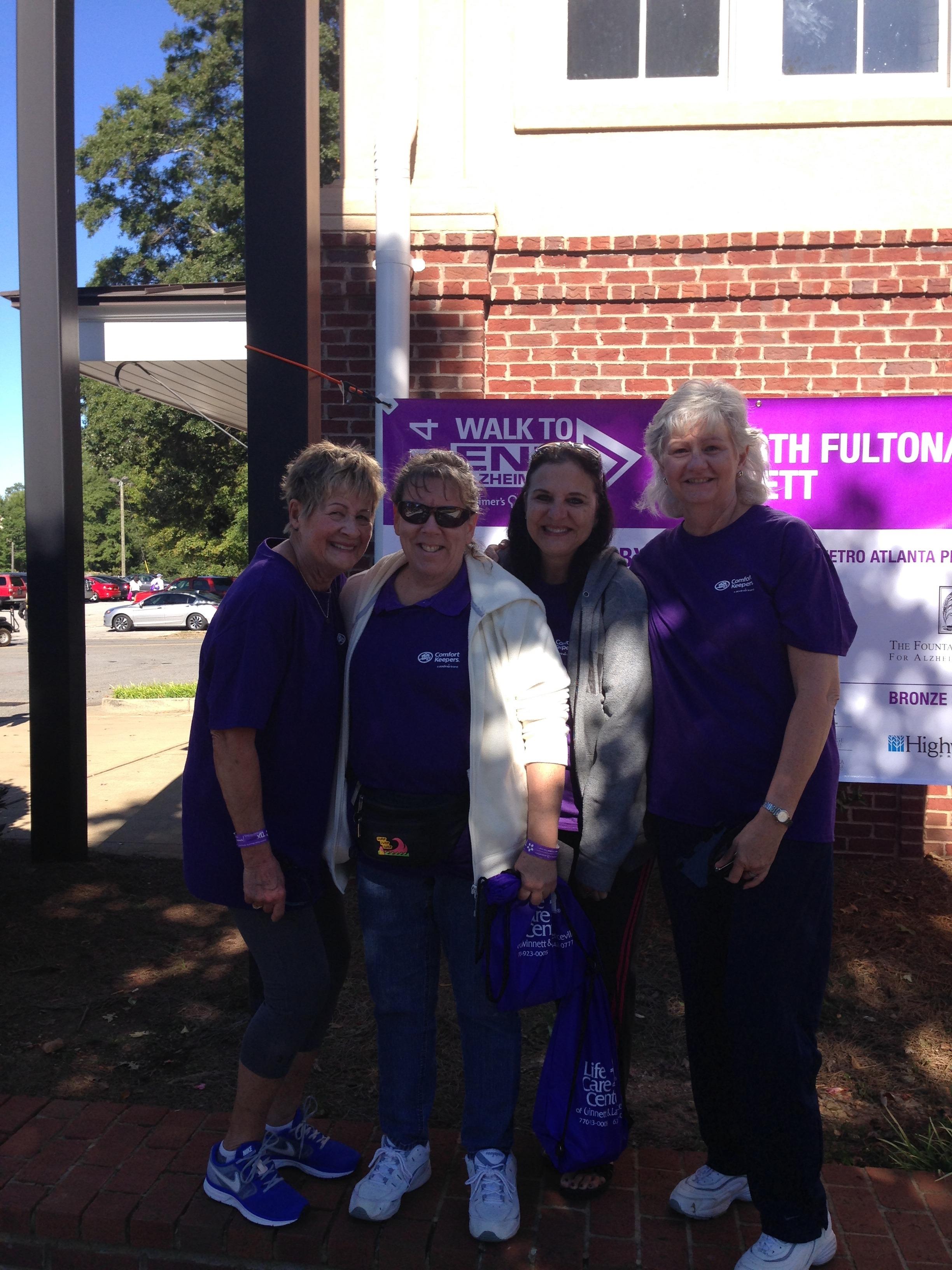 Alzheimer's Walk in Loganville
