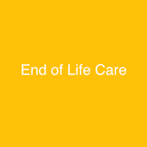 End of Life Care St Louis