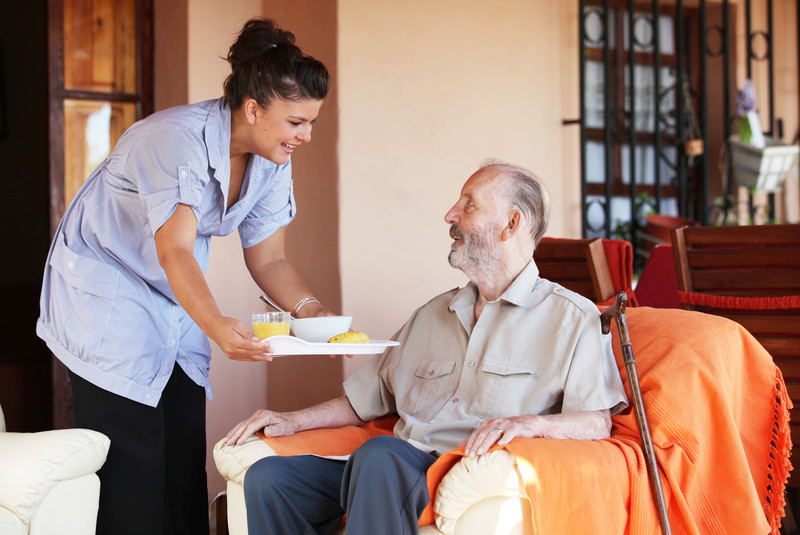 In home care that helps seniors with daily living needs in Plesant Gap, PA