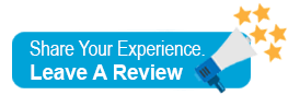 Share Your Experience, Leave a Google Review Button