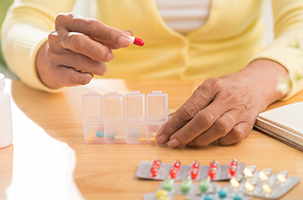 Dosage And Medication For Elderly Person Provided By Senior Care Services
