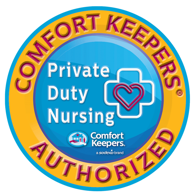 Comfort Keepers Private Duty Nursing Logo
