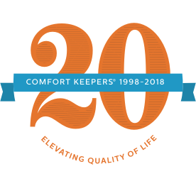Comfort Keepers 20th Anniversary Logo