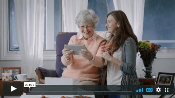 The grandPad senior tablet in Coeur d'Alene, ID