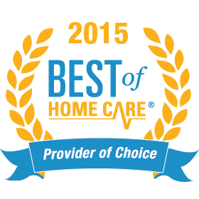 2015 Best of Home Care Provider of Choice