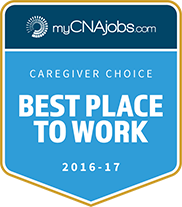 MyCNAJobs Best place to work 2016-2017