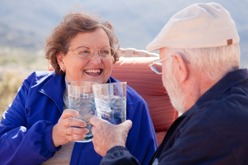 In home care for the elderly can help with dehydration at Comfort Keepers