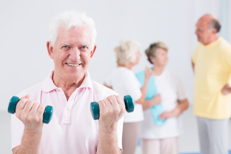 Elder care services can help seniors exercise and stay healthy