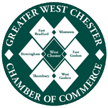 West Chester Chamber of Commerce logo for Comfort Keepers PA home care services