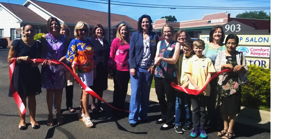 Comfort Keepers Ribbon Cutting