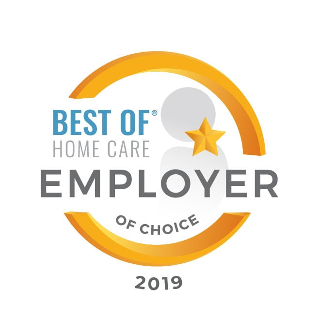 Best of Home Care Employer of Choice 2019 Award Graphic