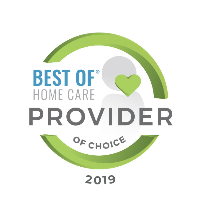 Best of Home Care Provider of Choice 2019 Award Graphic